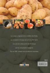 Cuisiner la pomme de terre en 45 recettes originales - 4ème de couverture - Format classique