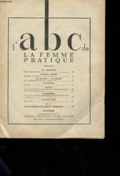 Lot De 31 Supllements Femina Pratique - L'Abc De La Femme Pratique - Le Confort - L'Elegance - Servir - Savoir- Vivre - La Cuisine - Couverture - Format classique
