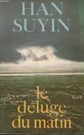 Le Deluge Du Matin - Couverture - Format classique