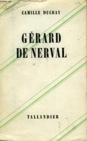Gerard De Nerval - Couverture - Format classique