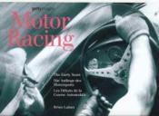 Motor Racing - Couverture - Format classique