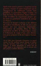 L'Arpenteur De Monde - 4ème de couverture - Format classique