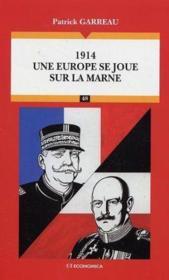 Une Europe Se Joue Sur La Marne - Couverture - Format classique
