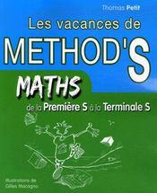 Les vacances de method'S ; mathématiques ; de la 1ère s à la terminale S - Intérieur - Format classique