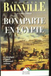 Bonaparte En Egypte - Couverture - Format classique