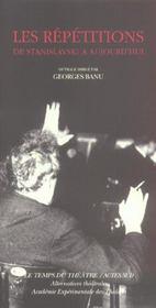 Les Repetitions De Stanislavski A Aujourd'Hui - Intérieur - Format classique