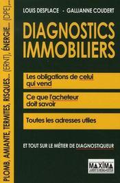 Diagnostics immobiliers - Intérieur - Format classique