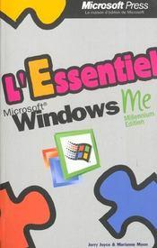 Microsoft Windows ; Millenium Edition ; L'Essentiel - Intérieur - Format classique
