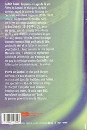 La Pente Si Sage De La Vie - 4ème de couverture - Format classique