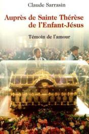 Aupres de sainte therese de l'enfant jesus version francaise - Couverture - Format classique