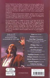 Le Vagabond D'Automne - Poemes, Chansons Et Theatre - 4ème de couverture - Format classique