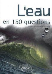 L'eau en 150 questions - Couverture - Format classique