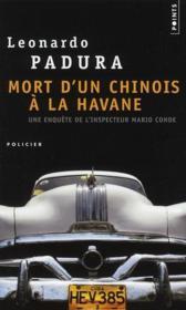 Mort d'un Chinois à la Havane - Couverture - Format classique