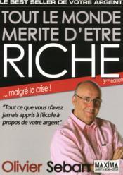 Tout le monde mérite d'être riche (3e édition) - Couverture - Format classique