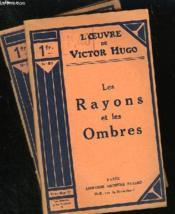 Les Rayons Et Les Ombres - Couverture - Format classique