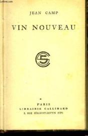 Vin Nouveau - Couverture - Format classique