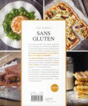 Sans gluten - 4ème de couverture - Format classique