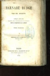 Barnabe Rudge - Tome Premier - Couverture - Format classique
