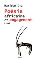 Poésie africaine et engagement - Couverture - Format classique