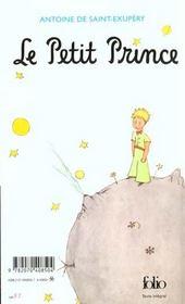 Le petit prince - 4ème de couverture - Format classique