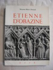 Etienne d'Obazine (1085-1159) - Couverture - Format classique