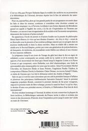 Le siècle des saint- simoniens ; du nouveau christianisme au canal de suez - 4ème de couverture - Format classique