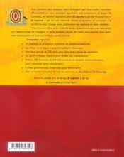 El Espanol Y Yo Methode D'Espagnol Pour Debutant - 4ème de couverture - Format classique