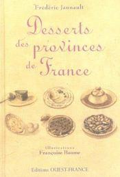 Desserts des provinces de france - Intérieur - Format classique