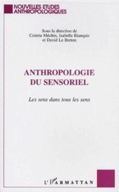 Anthropologie du sensoriel ; le sens dans tous les sens - Couverture - Format classique