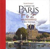 Carnet de paris 1e et 2e arrondissements - Intérieur - Format classique