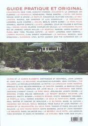 Hotels - 4ème de couverture - Format classique