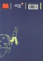 Janvier 2007 - 4ème de couverture - Format classique