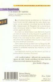 Un Nom De Torero - 4ème de couverture - Format classique
