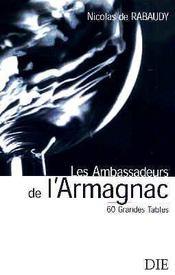 Les ambassadeurs de l'armagnac - Intérieur - Format classique
