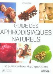 Guide des aphrodisiaques naturels - Intérieur - Format classique