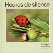 Heures de silence - Couverture - Format classique