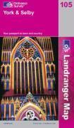 York & Alentours 1/50 000 - Couverture - Format classique
