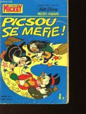 Le Journal De Mickey - Numero N°1199 Bis - Special Hors Serie - Piscou Se Mefie ! - Couverture - Format classique