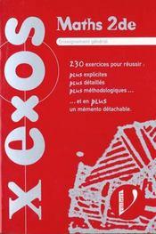 Exos+mathematiques Seconde - Intérieur - Format classique