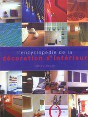 L'encyclopedie de la decoration d'interieur - Intérieur - Format classique