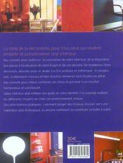 L'encyclopedie de la decoration d'interieur - 4ème de couverture - Format classique