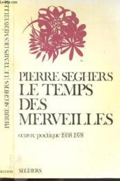 Le Temps Des Merveilles / 1938-1978 - Couverture - Format classique
