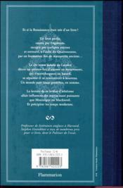 Quattrocento ; 1417 : aux origines de la Renaissance, un manuscrit perdu... - 4ème de couverture - Format classique