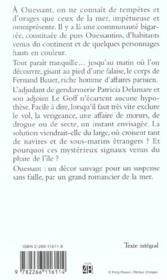 Tempete Sur Ouessant - 4ème de couverture - Format classique