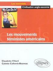 Les Mouvements Feministes Americains - Intérieur - Format classique