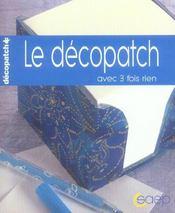 Le decopatch - Intérieur - Format classique