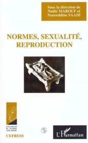 Normes, sexualité, reproduction - Couverture - Format classique