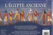 L'Egypte ancienne - 4ème de couverture - Format classique
