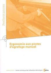 Ergonomie aux postes d'agrafage manuel performances resultats des actions collectives 9q10 - Couverture - Format classique