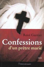 Confessions d'un prêtre marié - Intérieur - Format classique
